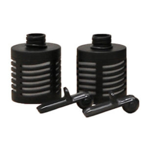 The two filters of the Pimag sport filter bottle for more ecology
